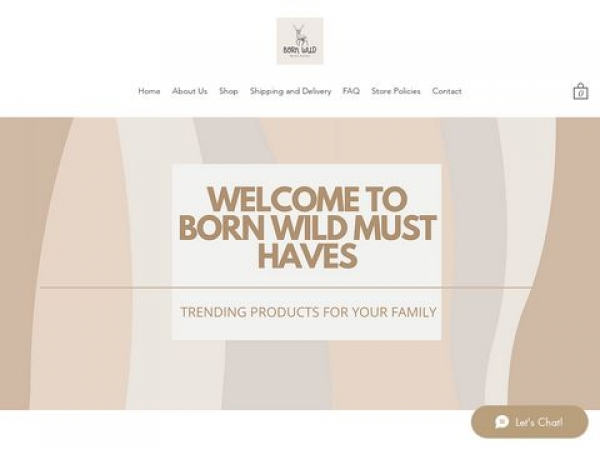 bornwildmusthaves.com