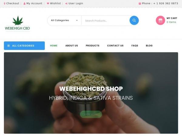 webehighcbd.com